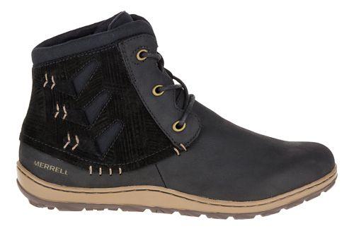 Womens Merrell Ashland Vee Ankle Casual Shoe - Black 6