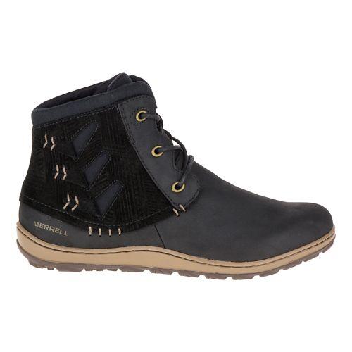Womens Merrell Ashland Vee Ankle Casual Shoe - Black 5
