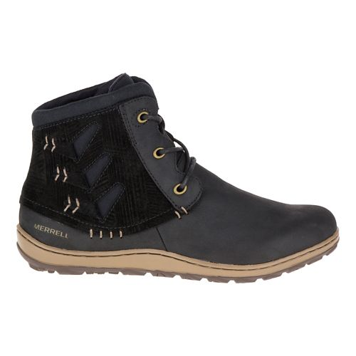 Womens Merrell Ashland Vee Ankle Casual Shoe - Black 5.5
