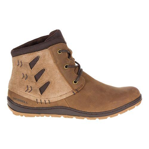 Womens Merrell Ashland Vee Ankle Casual Shoe - Merrell Tan 10.5