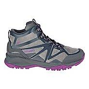 Womens Merrell Capra Bolt Leather Mid Waterproof Hiking Shoe