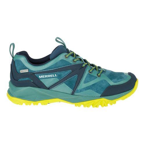 Womens Merrell Capra Bolt Leather Waterproof Hiking Shoe - Sagebrush Green 7.5