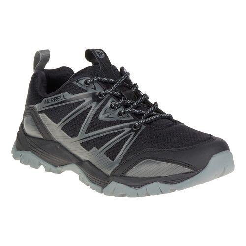 Womens Merrell Capra Rise Hiking Shoe - Black 5