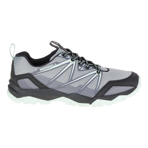 Womens Merrell Capra Rise Hiking Shoe - Monument 6