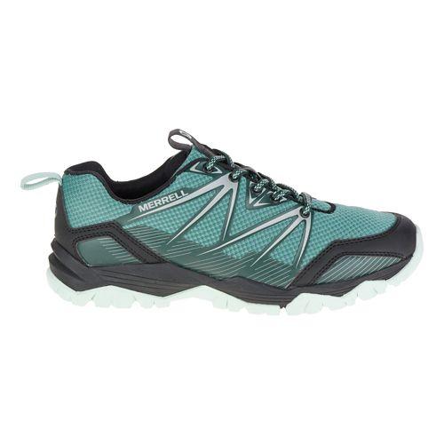 Womens Merrell Capra Rise Hiking Shoe - Sagebrush Green 5.5