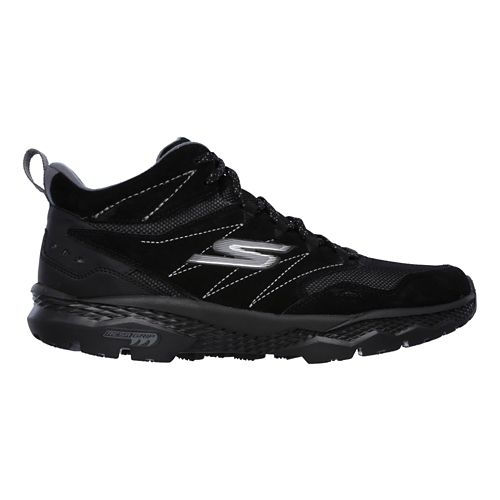 Mens Skechers GO Walk Outdoors Casual Shoe - Black 8.5