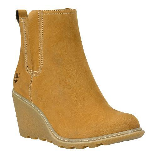 Womens Timberland Amston Chelsea Casual Shoe - Medium Brown 10