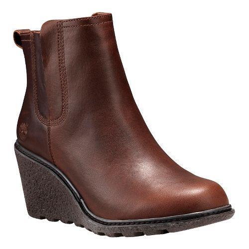 Womens Timberland Amston Chelsea Casual Shoe - Wheat Nubuck 9.5