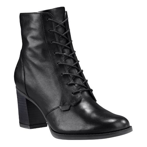 Womens Timberland Atlantic Heights Lace Chukka Casual Shoe - Black Full-Grain 9.5