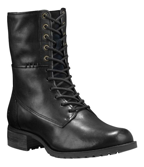 Womens Timberland Banfield Mid Lace Boot Casual Shoe - Black Full-Grain 8