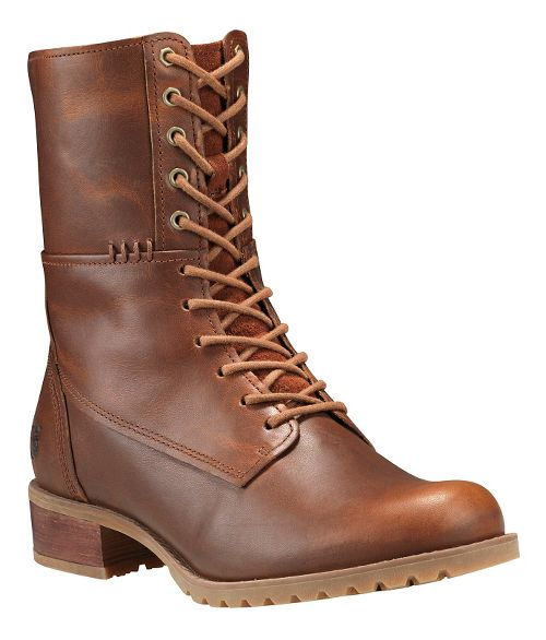 Womens Timberland Banfield Mid Lace Boot Casual Shoe - Medium Brown 8.5