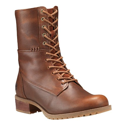 Womens Timberland Banfield Mid Lace Boot Casual Shoe - Medium Brown 6.5