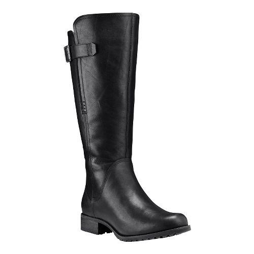 Womens Timberland Banfield Tall All Fit Waterproof Boot Casual Shoe - Black Full-Grain 8