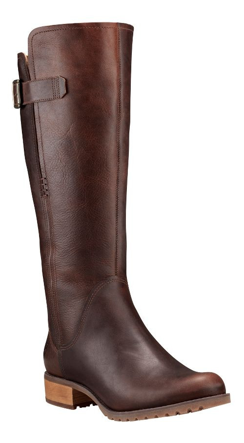 Womens Timberland Banfield Tall All Fit Waterproof Boot Casual Shoe - Dark Brown 6