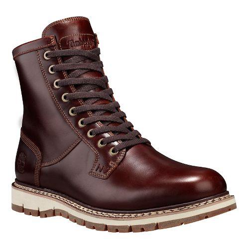 Mens Timberland Britton Hill Waterproof Plain Toe Boot Casual Shoe - Medium Brown 7.5
