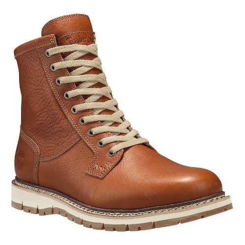 Mens Timberland Britton Hill Waterproof Plain Toe Boot Casual Shoe - Burnt Orange 10.5