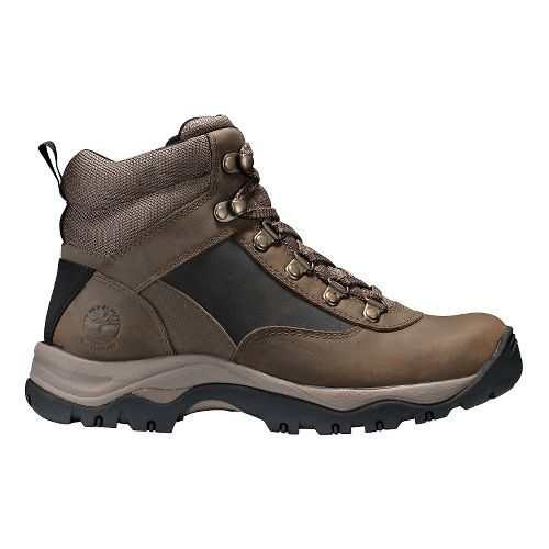 Womens Timberland Keele Ridge Waterproof Leather Mid Casual Shoe - Pewter Oiled 9