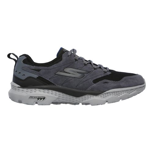 Mens Skechers GO Walk Outdoors - Voyage Casual Shoe - Charcoal/Black 11.5