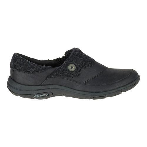 Womens Merrell Dassie Fold Moc Casual Shoe - Black 11