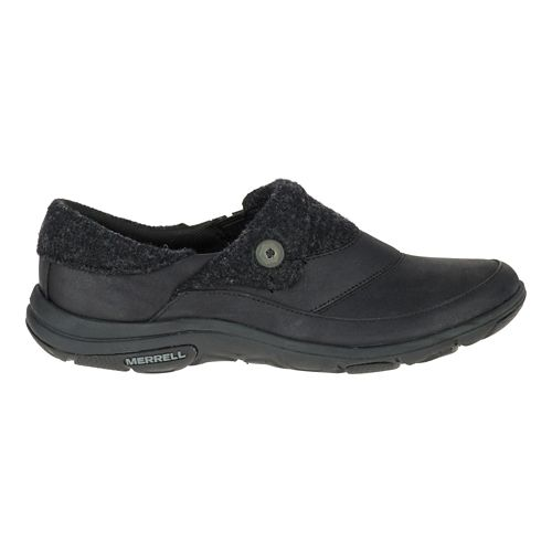 Womens Merrell Dassie Fold Moc Casual Shoe - Black 7.5