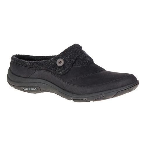 Womens Merrell Dassie Fold Slide Casual Shoe - Black 5