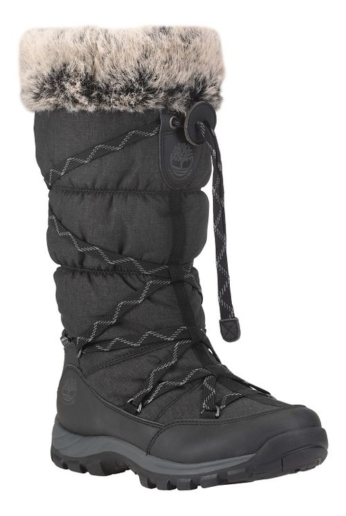Womens Timberland Over the Chill Waterproof Insulated Casual Shoe - Black 9.5