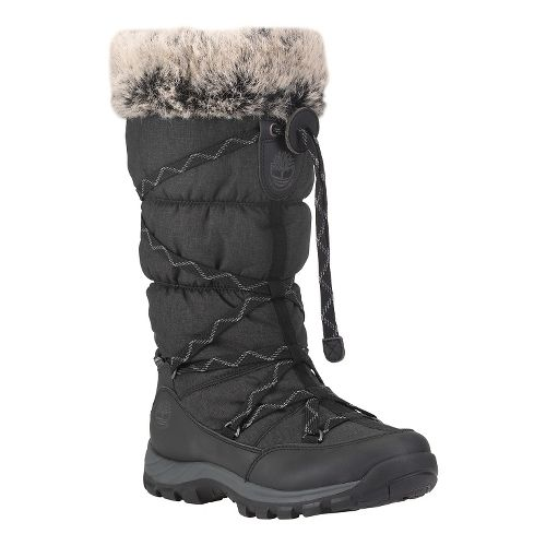 Womens Timberland Over the Chill Waterproof Insulated Casual Shoe - Black 8.5