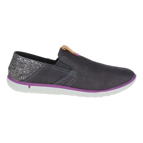 Womens Merrell Duskair Moc Smooth Casual Shoe - Black 9.5
