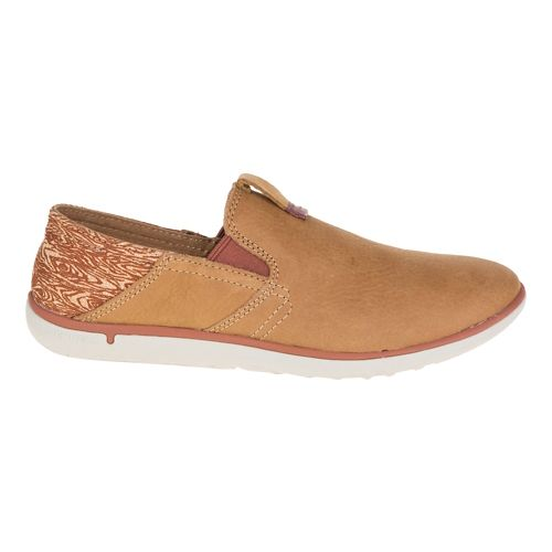Womens Merrell Duskair Moc Smooth Casual Shoe - Brown Sugar 8.5