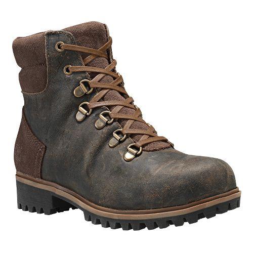 Womens Timberland Wheelwright Waterproof Hiker Casual Shoe - Dark Brown 9