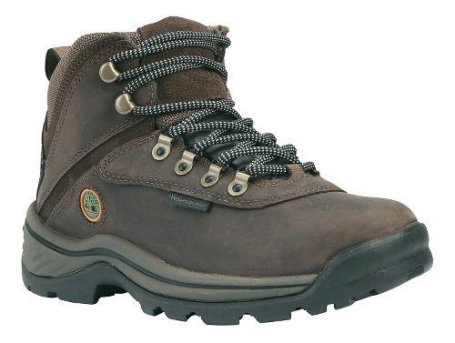 Womens Timberland White Ledge Mid Waterproof Casual Shoe - Dark Brown 6