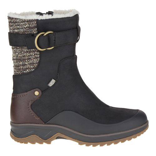 Womens Merrell Eventyr Mid North Waterproof Casual Shoe - Black 7