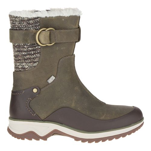 Womens Merrell Eventyr Mid North Waterproof Casual Shoe - Bungee Cord 6