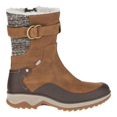 Womens Merrell Eventyr Mid North Waterproof Casual Shoe - Merrell Tan 8.5