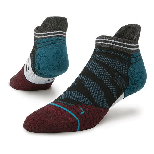 Mens Stance Fusion Run Falcon Tab Socks - Blue L