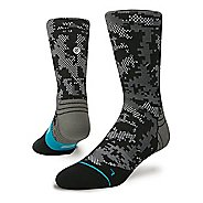 Mens Stance Fusion Run Zing Crew Socks