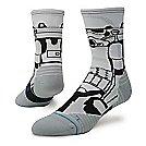 Mens Stance Star Wars Run Storm Trooper Crew Socks