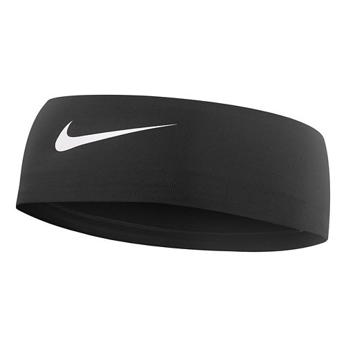 Womens Nike Fury Headband 2.0 Headwear - Black/White