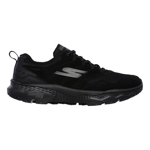 Mens Skechers GO Walk Outdoors - Voyage Casual Shoe - Black 11
