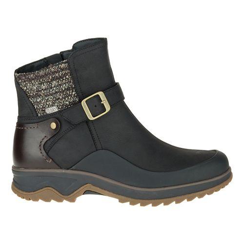 Womens Merrell Eventyr Strap Waterproof Casual Shoe - Black 6.5
