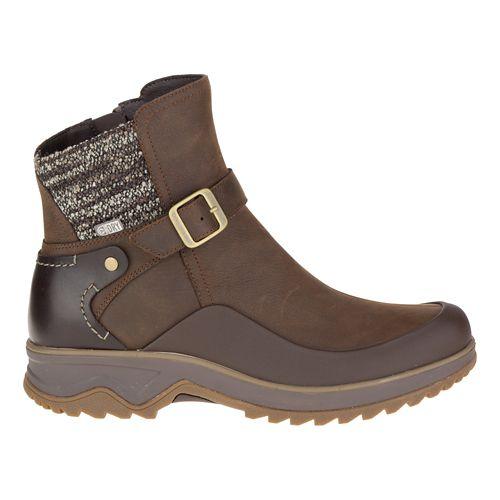 Womens Merrell Eventyr Strap Waterproof Casual Shoe - Clay 10