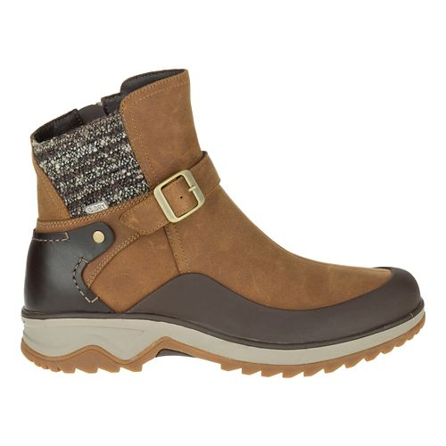 Womens Merrell Eventyr Strap Waterproof Casual Shoe - Merrell Tan 11