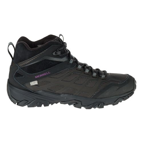 Womens Merrell Moab FST Ice+ Thermo Hiking Shoe - Black 5.5