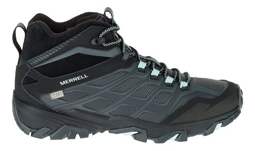 Womens Merrell Moab FST Ice+ Thermo Hiking Shoe - Granite 5