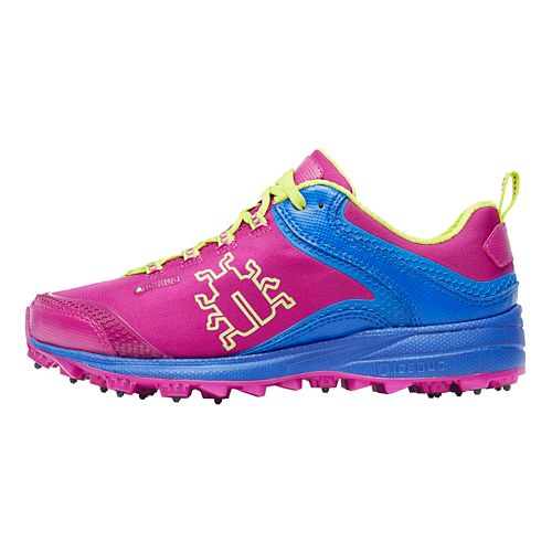Womens Icebug Aurora BUGrip Running Shoe - Magenta/Cobalt 9