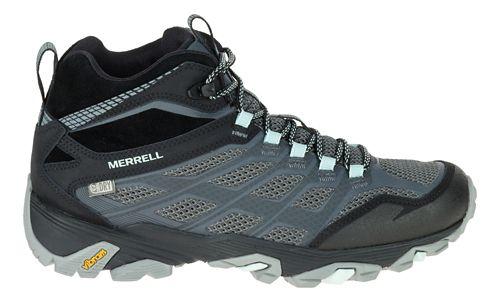 Womens Merrell Moab FST Mid Waterproof Hiking Shoe - Granite 10.5