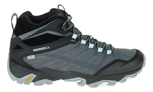 Womens Merrell Moab FST Mid Waterproof Hiking Shoe - Granite 6