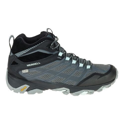 Womens Merrell Moab FST Mid Waterproof Hiking Shoe - Granite 7