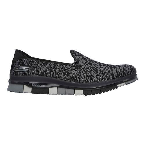 Womens Skechers GO Flex - Ability Casual Shoe - Black 5