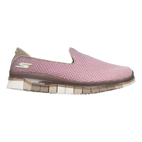 Womens Skechers GO Flex - Lotus Casual Shoe - Taupe 6.5